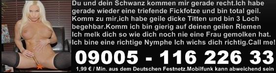 Telefonsex mit Nymphomanin